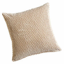 Chenille Spot Cream Cushion Cover 20inx20in (50cmx50cm) Approximately by Hamilto