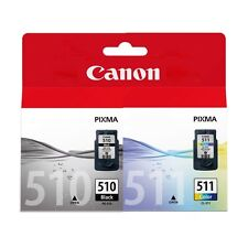 Canon PG510 Black & CL511 Colour Original Ink Cartridges Combo Set Pixma MP495