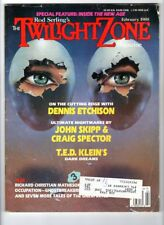 WoW! Rod Serlings Twilight Zone February 1988 Reviews: Robocop! The Lost Boys