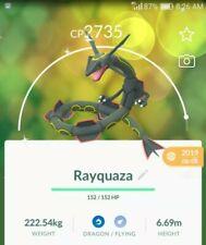 Pokemon go Legendary Shiny Rayquaza ✨