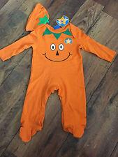 Baby boys cute HALLOWEEN Pumpkin 2 piece suit - Age 3-6 months, BNWT sleepsuit