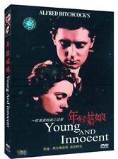 Young and Innocent All Region DVD Nova Pilbeam, Derrick De Marney, Percy Marmont