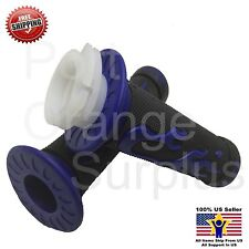 Handle Bar Throttle Grips for Dirt Pit Bike Moped Scooter 7/8 30mm