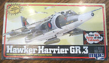 1/72 Mpc Hawker Harrier Gr.3 British Fighter Plane Model Mib New Sealed