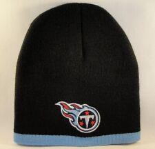 Tennessee Titans NFL Knit Beanie Hat Black Blue