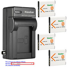 Kastar Battery Wall Charger for Sony NP-BN1 BC-CSN & Sony Cyber-shot DSC-W350