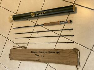 Hardy Sintrix Prototype 9ft Travel Fly Rod Rated #7, Very Rare & NR MINT in Tube
