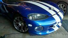 92-02 Dodge Viper Clear Side Turn Lights Lens Reflectors