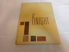 1963 Yearbook Knight St. Mel High School. Chicago. IL.