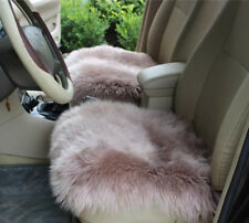 Real Australia Sheepskin Long Wool Hair Sofa Front & Rear Car Seat Covers winter