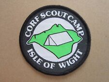 Corf Scout Camp Cloth Patch Badge Boy Scouts Scouting L4K C