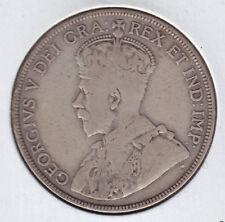1914 Canada Fifty Cents - Better Date 50 Cents Silver Coin