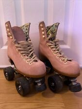 moxi lolly suede roller skates Strawberry Pink Size 4 M (5-6 W)