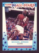 Michael Jordan 1989-90 Fleer Sticker #3