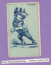 Vintage Baseball Trade Card 1880s-90s A Curver #313 QP IceCream Soda