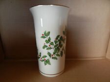 New ListingVintage Lenox China Holiday Large Vase - Made in Usa