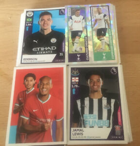 Panini Premier League 2021: Choose 25 Stickers For £4.75, Most Available