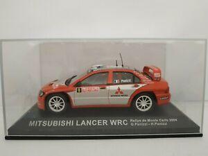 1/43 MITSUBISHI LANCER WRC 2004 PANIZZI MONTECARLO COCHE A ESCALA SCALE DIECAST