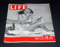 LIFE MAGAZINE AUGUST 11 1941 RITA HAYWORTH
