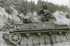 WW II - German  Photo --   Panzer  Tanks