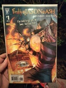 Freddy vs Jason vs Ash #1 & #2
