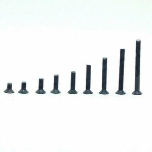 DIN 7991 Senkkopfschrauben M3  M4-schwarz-Stahl-hochfest 10.9 -ab 2 Stück