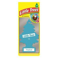 4 x Little Magic Tree Car Air Freshener TROPICAL Coconut/Pineapple Freshner 2D