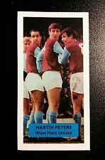 ENGLAND - WEST HAM UNITED - MARTIN PETERS  Score UK football trade card