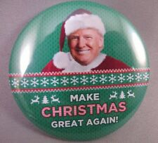 e63944ccbb4 WHOLESALE LOT OF 22 MAKE CHRISTMAS GREAT AGAIN TRUMP RED HAT 2020 BUTTON  AMERICA