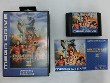 "Golden Axe 3  Sega Mega Drive - PAL - High Quality Repro by ""RGF"" - one of 100 !"