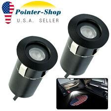5Th Ghost Shadow Door Step Gen Car Laser Projector Logo LED Light USA Flag