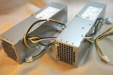 LOT  OF 2 - Dell OptiPlex 3020 7020 9020 Precision T1799 SFF Power Supply NT1XP