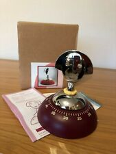 Alessi - AAM09 R - Anna Time, Kitchen timer, Red - New & Boxed
