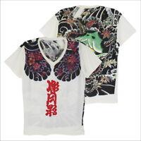 WORK Japan Irezumi Tattoo ink yaguza samurai japanese men #WK105 T-Shirt M L XL