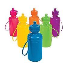 Neon Sport Water Bottle 1 pc Random Color