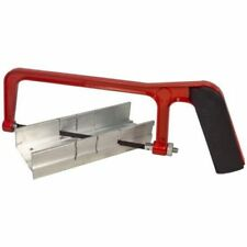 "Amtech Junior Hacksaw & Mitre Block Tool Blade Saw 150mm 6"" Sawing Angle Tools"