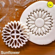 Sunflower cookie cutter |flower garden summer Helianthus farm horticulture petal