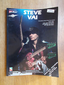 Steve Vai Guitar Cherry Lane Tablature Book