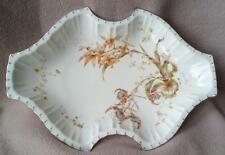 "ANTIQUE ROYAL CROWN DERBY SERVING DISH ""HARROW"" RANGE HAND PAINTED ART NOUVEAU"