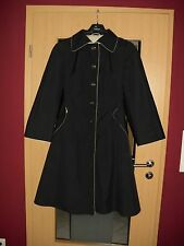 H&M original Trenchcoat / Mantel Schwarz Gr.40 **w.NEU**
