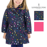 London Fog Girls Mid-Weight Fleece Lined Jacket