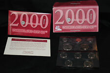 2000 Uncirculated Denver Mint UNITED STATES COIN SET