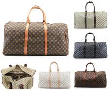 UK Large Designer Inspired Holdall Weekend Luggage Duffel Cabin Travel Case Bag
