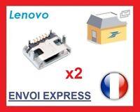 2 * Lenovo Tab 2 A10-30 TB2 X30F Micro USB Dc Port de Charge Prise Connecteur