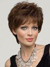 Fashion wig New sexy women's short Dark Brown Natural Hair wigs