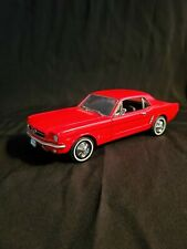 Welly 1964-1/2 Ford Mustang Red 1/24 Diecast Toy Car Model