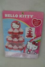 Wilton Hello Kitty Cupcakes Stand Hold 24 Cupcakes New