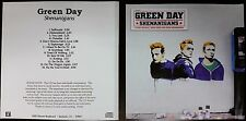 GREEN DAY 'SHENANIGANS' 2002 WATERMARKED ADVANCE PROMO CD acetate
