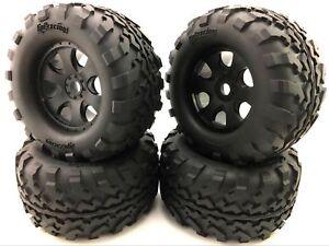 1/8 Truggy RC Car HPI-Racing GT2 Tires and Rim 160x86mm Savage 4.6 5.9 x4Pcs