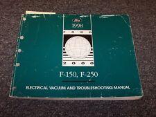 1998 Ford F150 F250 Truck Electrical Wiring Vacuum Diagram Manual Lariat XL XLT